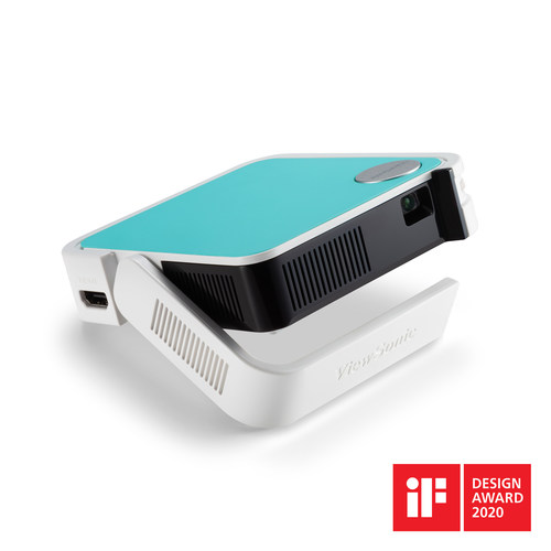 The ViewSonic M1 mini is a pocket-sized projector that delivers convenient audio-visual entertainment anywhere. With a lightweight (300g), ultra-compact form factor with swappable colored top plates, the M1 mini serves as a personal pocket cinema for everyday life.