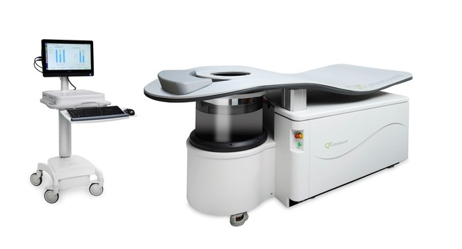 QT Ultrasound Breast Scanner