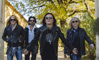 Rock Band The Dead Daisies are (from left to right) - Doug Aldrich (Whitesnake, Dio), Deen Castronovo (Journey, Bad English and Hardline), Glenn Hughes (Deep Purple, Black Country Communion) and David Lowy (Mink and Red Phoenix).