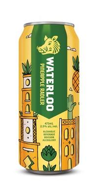 Waterloo Brewing Pineapple Radler (CNW Group/Waterloo Brewing Ltd.)