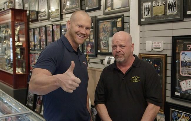 Pawn Stars' Rick Harrison Endorses Dan Rodimer for Congress at Gold & Silver Pawn Shop in Las Vegas