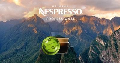 Introducing Nespresso Professional Peru Organic, the first certified organic Nespresso coffee