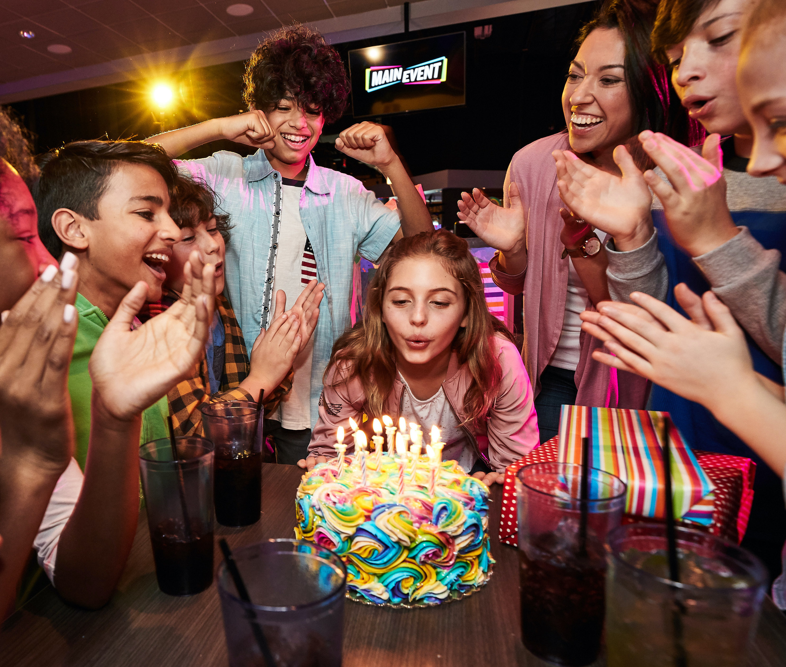Five All New Birthday Party Packages Are Here Main Event