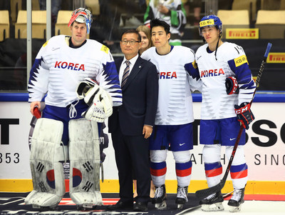 President of Korea Ice Hockey Association, Mong-won Chung to be International Ice Hockey Federation Hall of Famer