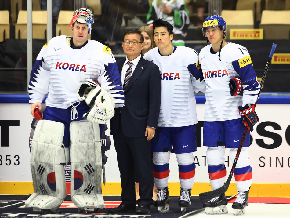 President of Korea Ice Hockey Association, Mong-won Chung to be International Ice Hockey Federation Hall of Famer