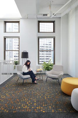 The NY+LON Streets collection includes six carpet tile products in eight colorways.