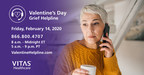 When A Day Of Love Turns Into Intense Grief, Call VITAS® Healthcare's Valentine Helpline