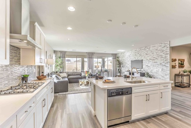 Kitchen at Regina Ridge from Summit Homes of Nevada