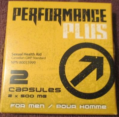 Capsules Performance Plus (NPN 80053999) (Groupe CNW/Santé Canada)