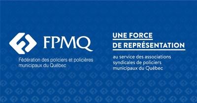 Logo : Fédération des policiers et policières municipaux du Québec (Groupe CNW/Fédération des policiers et policières municipaux du Québec (FPMQ))