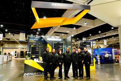 Dehui Solar Launches Max & BiMax Series PV Modules During Intersolar North America 2020