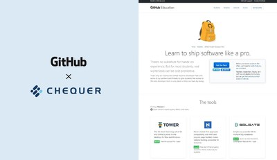 CHEQUER selected as Partner for a software development platform, GitHub
