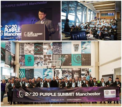 Plus de 70 invités ont assisté au PURPLE SUMMIT 2020 de Nexen Tire à Manchester. (PRNewsfoto/Nexen Tire)