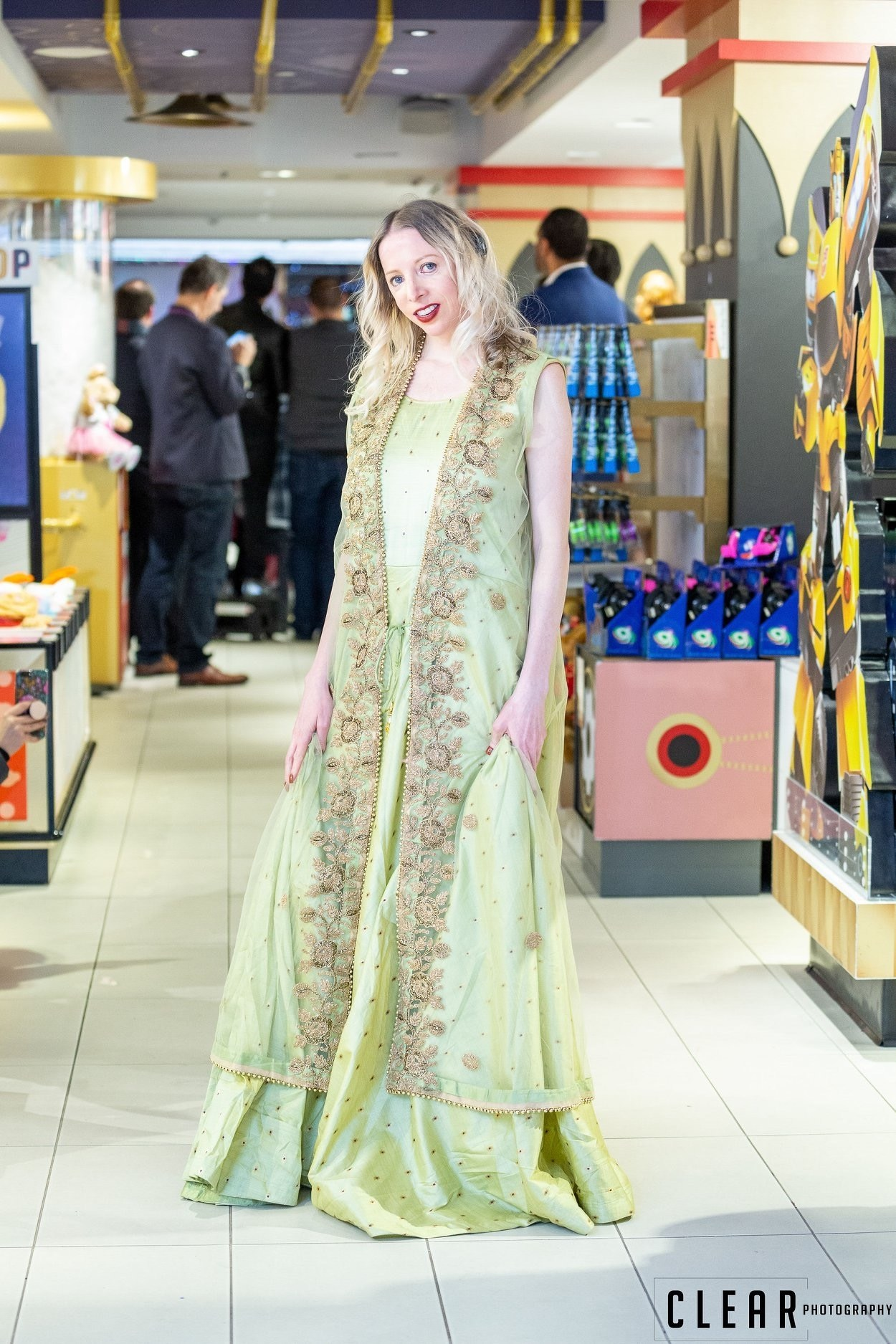 Cynthia Murphy, Treacher Collins Syndrome featuring Prashant Goyal Heritage India Fashion Designs Trends