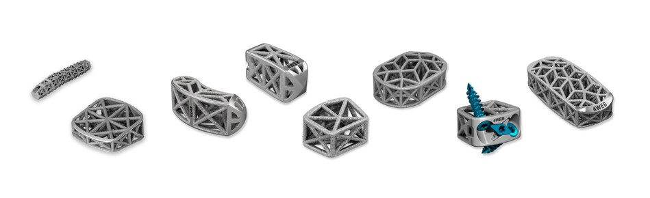 4WEB's portfolio of proprietary truss implants