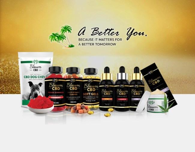 Blosum CBD Products