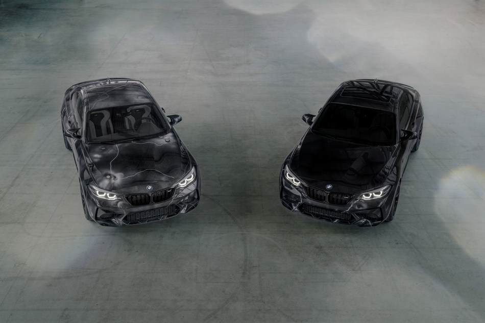 BMW M2 by FUTURA 2000 and BMW M2 Edition designed by FUTURA 2000 (02/2020). © BMW AG  BMW M2 Competition (combined fuel consumption: 10.0 l/100 km; combine CO2 emissions: 227 g/km) (PRNewsfoto/BMW Group)