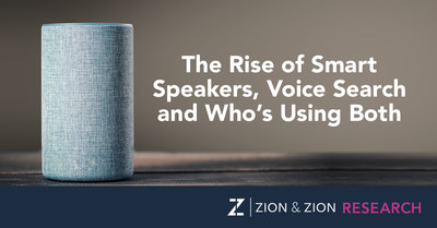 Zion & Zion Research Study - The Rise of Smart Speakers, Voice Search and Who's Using Both