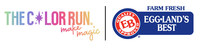 The Color Run & Eggland's Best logo