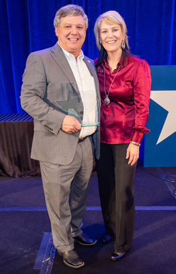 Scott Kesner of El Paso was named 2019 Texas Realtor of the Year, the most prestigious honor awarded annually to a member of Texas Realtors who has made outstanding contributions to the industry throughout their career. Scott is pictured here with his wife, Paula.