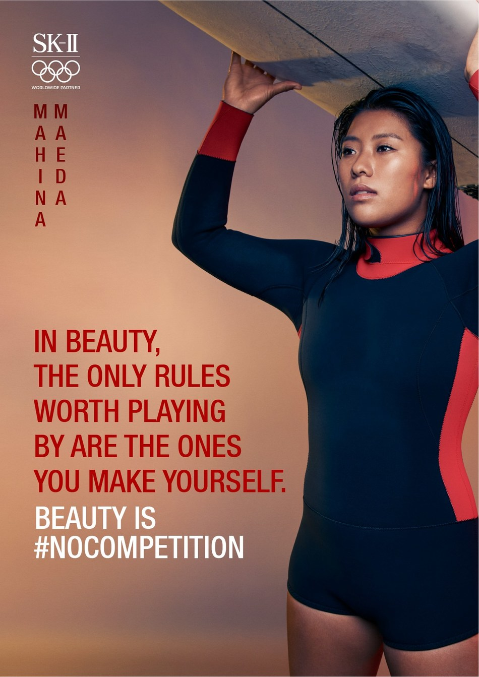 Mahina Maeda declares Beauty is #NOCOMPETITION
