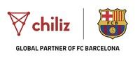 Chiliz and FC Barcelona Logo (PRNewsfoto/Chiliz)