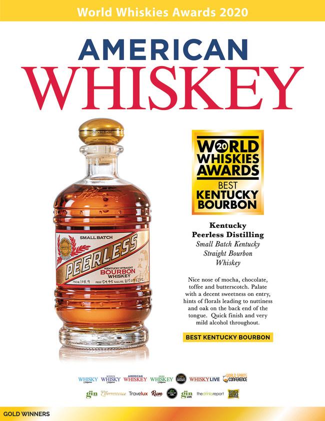 """American Whiskey magazine Names Kentucky Peerless Small Batch Bourbon """"Best Kentucky Bourbon"""""""