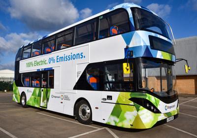 Stagecoach's BYD ADL Enviro400EV (CNW Group/Alexander Dennis Limited)