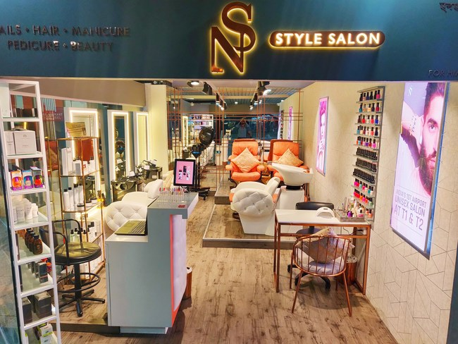 'NS Style Salon' - India's first unisex airport salon starts Haircut services at GVK T1 & T2 Mumbai Airports