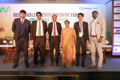 Dignitaries at the inauguration of RE Growth Forum in Colombo, Sri Lanka