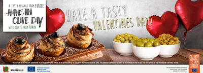 Cook with Passion on Valentine's Day with European Olives Recipes
