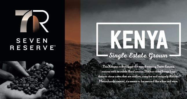 7-Eleven, Inc. has added yet another sustainability sourced coffee option to its rotating Seven Reserve portfolio. Kenya Single Estate Grown Coffee is the latest Seven Reserve™ premium coffee and is made with Rainforest Alliance™-certified beans. The single origin hot beverage is available in participating stores while supplies last.