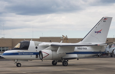 The S-3A research aircraft pictured has been the primary testbed from 2013 to 2019 for flight testing of CNPC related technologies.