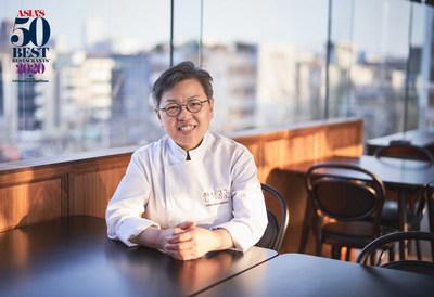 """""""亚洲50最佳餐厅""""宣布赵希淑荣获2020年度亚洲最佳女厨师奖"""