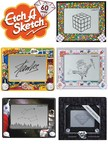 The Etch A Sketch® Brand Draws in the Classics with a Series of Limited Edition Collaborations to Mark 60th Anniversary Year