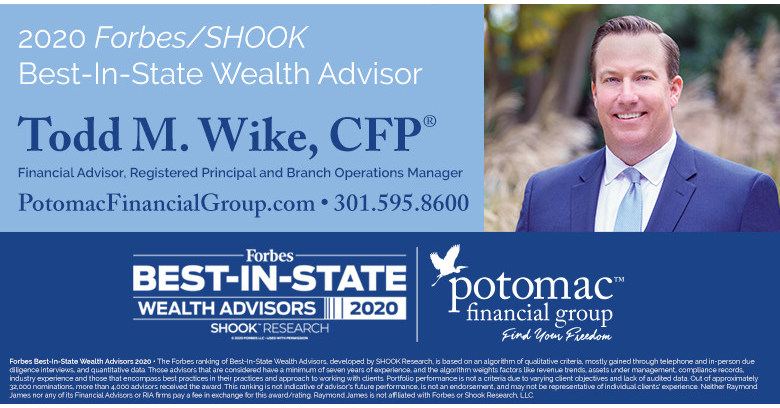 Potomac Financial Group S Todd Wike Named To Forbes List Of Top Wealth Advisors