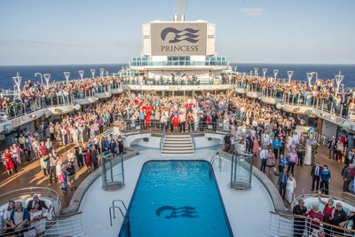 Princess Cruises Sets GUINNESS WORLD RECORDS™ Title for Largest Multi-Location Vow Renewal
