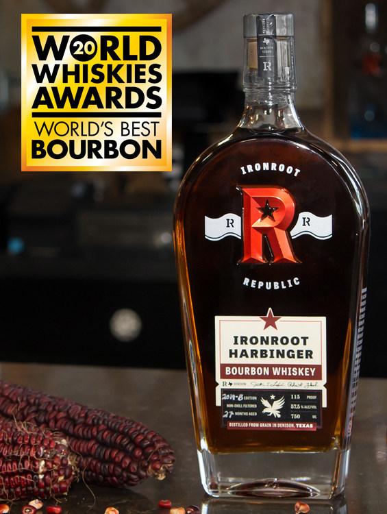 Ironroot Harbinger Straight Bourbon Whiskey