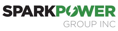 Spark Power Group Logo (TSX:SPG). We work to earn the right to be our North American customers' Trusted Partner in Power. (CNW Group/Spark Power Group Inc.)