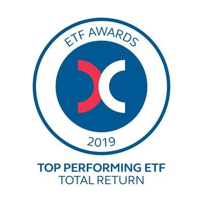 A Premia Partners é selecionada como vencedora do HKEx Top Performing ETF -- Prêmio de Retorno Total por seu Premia CSI Caixin China New Economy ETF com 45,2% de retorno em 2019 (PRNewsfoto/Premia Partners)