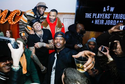 """During the """"Player's Night Out"""" event which benefits the Chicago Public Library, during NBA All-Star Weekend, guests enjoyed Hennessy, a special partner of the event. (Photo by Getty Images)"""