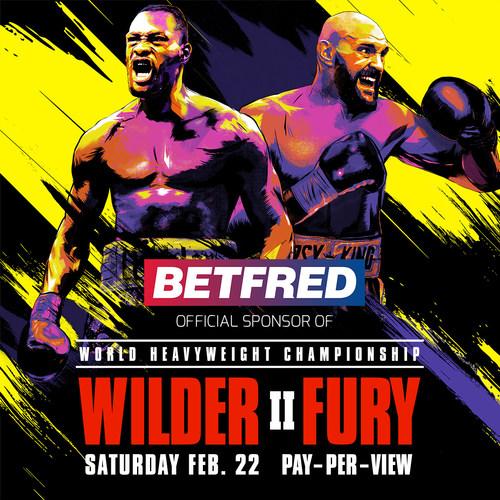 Betfred to sponsor Wilder v Fury