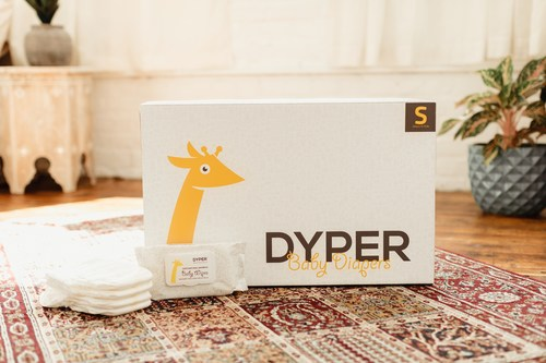 DYPER is an eco-friendly $68 per month diaper subscription service, now launching REDYPER which allows customers to ship back their soiled DYPER diapers for composting.