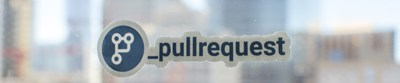 PullRequest Logo In Office