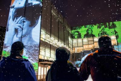 Grande Bibliothèque : une Nuit blanche pour jouer! Photo : Michel Legendre, BAnQ. (Groupe CNW/Bibliothèque et Archives nationales du Québec)