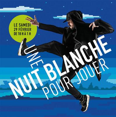 Grande Bibliothèque : une Nuit blanche pour jouer! Image : Jean Corbeil, BAnQ. (Groupe CNW/Bibliothèque et Archives nationales du Québec)
