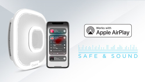 Apple AirPlay 2 Now Available on the Onelink Safe & Sound by First Alert®