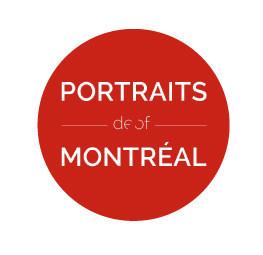Logo : Portraits de Montréal (Groupe CNW/Bibliothèque et Archives nationales du Québec)