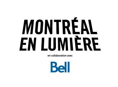 Logo : Montréal en lumière (Groupe CNW/Bibliothèque et Archives nationales du Québec)