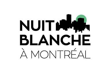 Logo : Nuit blanche à Montréal (Groupe CNW/Bibliothèque et Archives nationales du Québec)